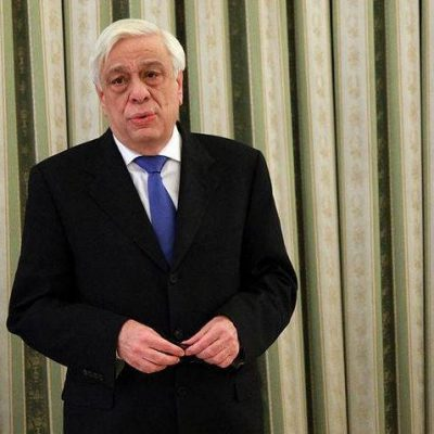 President Pavlopoulos sends a message of unity from Evia