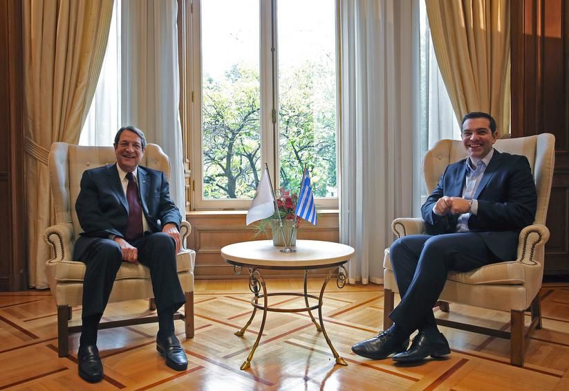 Tsipras, Anastasiades had 'meaningful, constructive' discussion