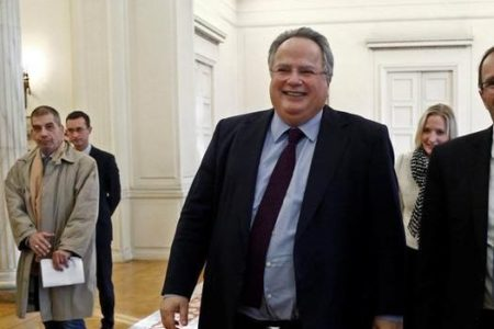Kotzias, Stier discuss bilateral relations, EU prospects for Balkan countries