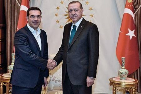Tsipras-Erdogan phone call on efforts for Cyprus solution