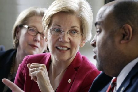 Elizabeth Warren says Trump pushed out prosecutors to install 'cronies'