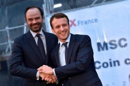 Macron names Philippe as French PM