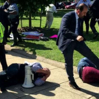 Two arrests made in Turkish Embassy melee case