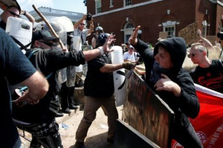 Was Charlottesville violence a hate crime or terrorism?