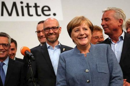 German far-right pledges to 'reclaim country' as Merkel begins tough coalition talks