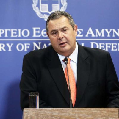 Kammenos: Greece could benefit greatly from signing of EU defence cooperation deal