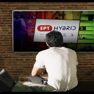 ERT launches the era of hybrid television