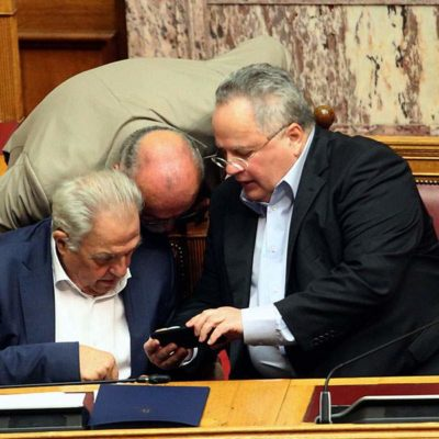 Greek Parliament debates Tsipras' fate