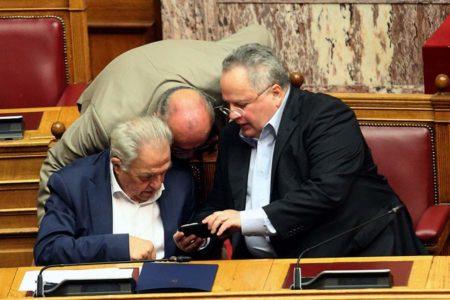 Greek Parliament debates Tsipras' fate