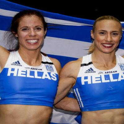 Greek triumph in women's pole vault in Berlin