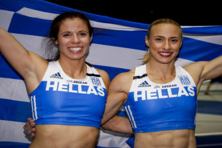 Greek triumph in women's pole vault in Berlin