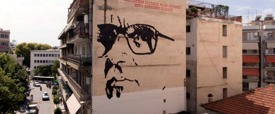Greek town loves movie score maestro Morricone — and it shows