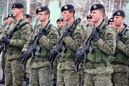 Kosovo votes to create national army over Serb objections