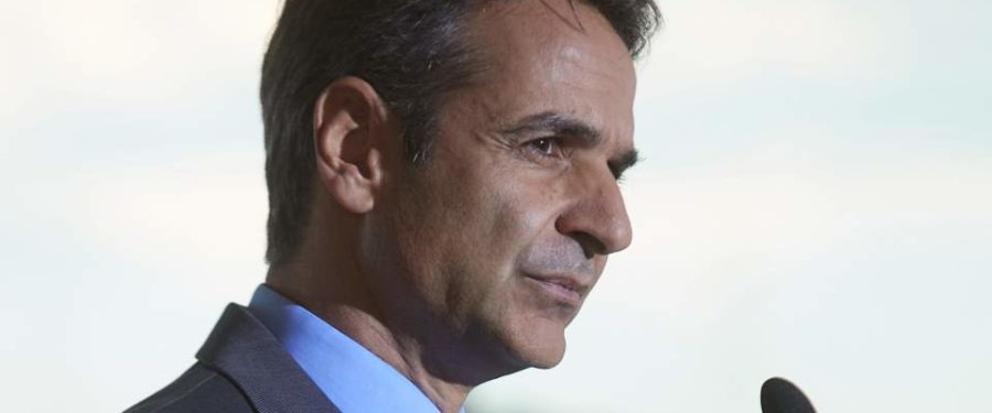 Mitsotakis: Tsipras a weak prime minister heading a cynical coalition