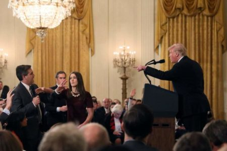 CNN sues Trump to restore reporter's White House access