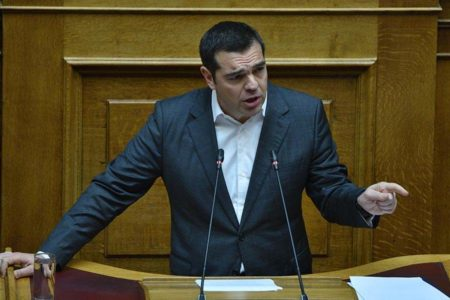 Greek PM faces no-confidence vote in Parliament
