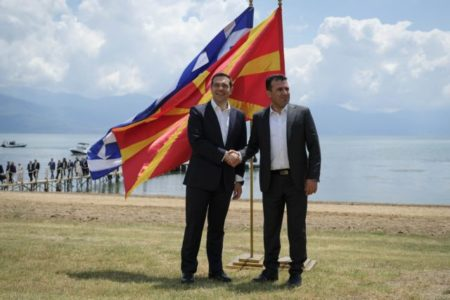 Greece first to approve North Macedonia joining NATO