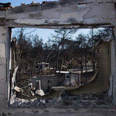 Greek Prosecutors Charge 20 Over Deadly Wildfire in Mati