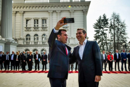 Selfies, air pact mark North Macedonia-Greece detente
