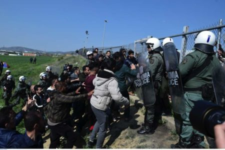 Fresh tensions beset migrant camp in Northern Greece