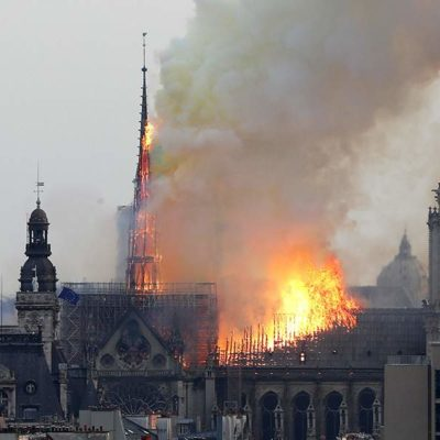 Major fire breaks out at Notre Dame Cathedral in Paris