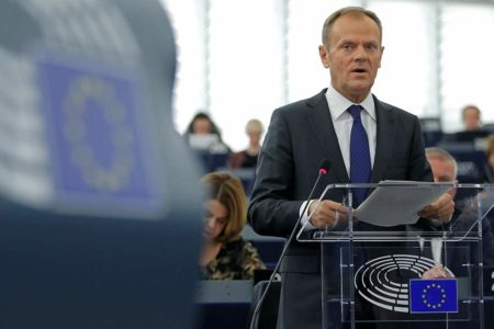 EU's Tusk wants to offer Britain another year to sort out Brexit