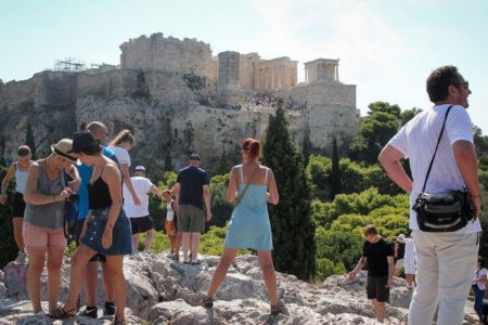 More than 33 million tourists visited Greece in 2018