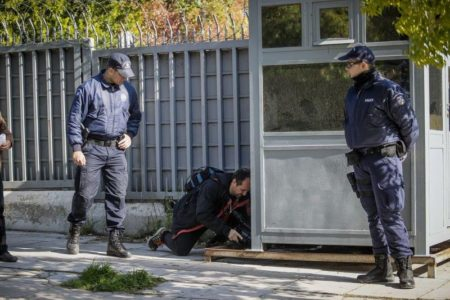 Greek anarchists claim Russian Consulate grenade blast
