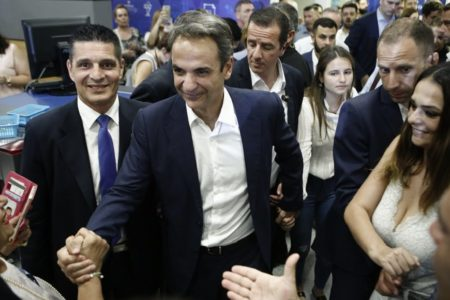 Kyriakos Mitsotakis: A strong four-year mandate with majority government
