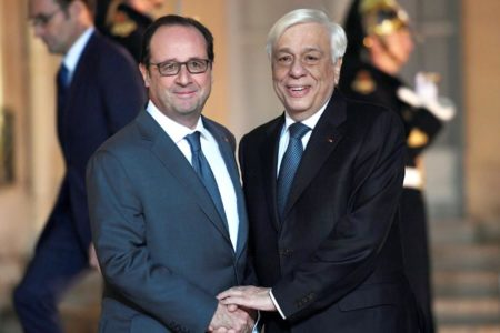 Pavlopoulos to Hollande: We must fight for a strong and prosperous Europe