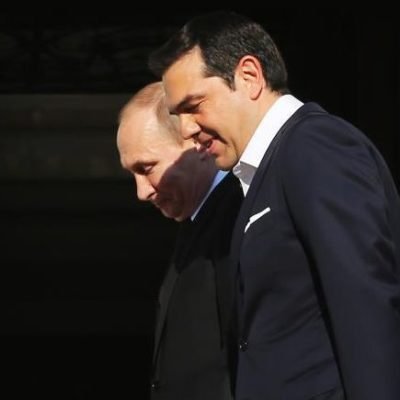 Tsipras and Putin underline need for strengthening relations