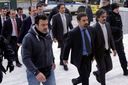 Greek court turns down extradition request for eight Turkish officers