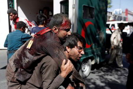 Deadly truck bomb rocks Kabul
