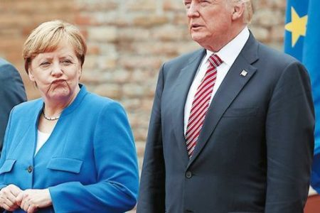 Europe left uneasy by Trump's message