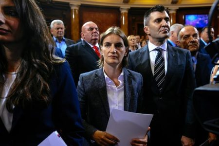 Serbia gets its first female – and gay – prime minister