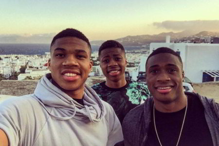 Tourism Minister invites Antetokounmpo brothers to become tourism ambassadors