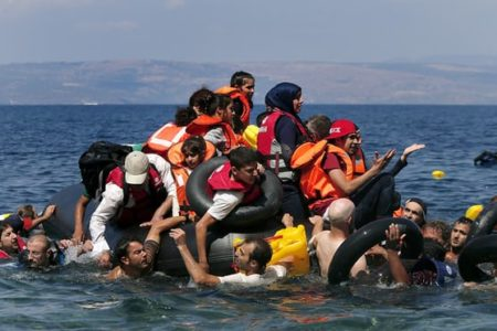 War and violence drive 80% of people fleeing to Europe by sea, not economics