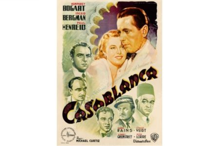 "Italian poster for ""Casablanca"" attracts $478,000 at auction"
