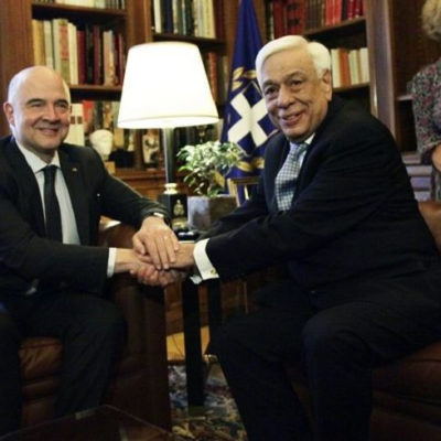 Pavlopoulos-Moscovici: Greece will meet its commitments