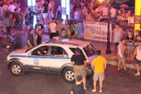 6 Serbians arrested in Greece in fatal beating of US man