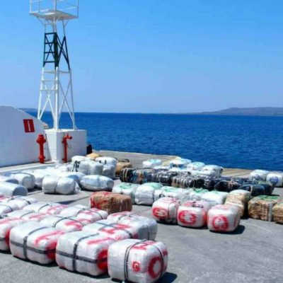 Two tons of cannabis in sailboat off Kythera
