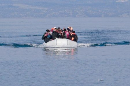 Overcrowding of refugee sites on Greek islands causing distress