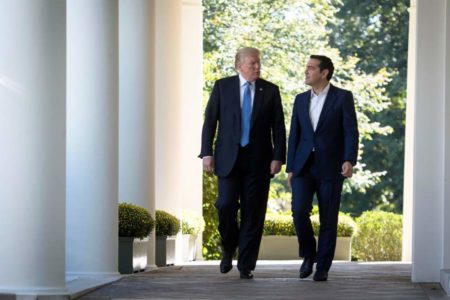 Trump praises Greece as 'most stable country in the region'