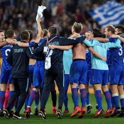 Croatia draw with Greece in second leg to qualify for 2018 World Cup