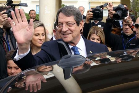 Cypriot President Nicos Anastasiades wins reelection