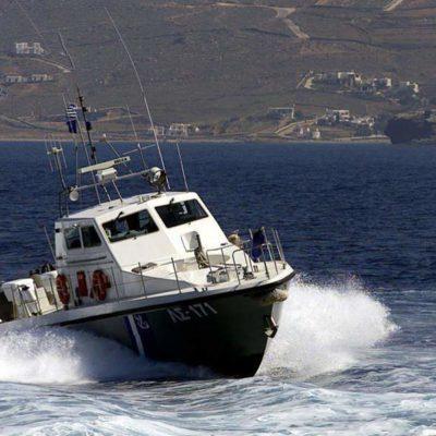 Trafficker arrested following pursuit in the sea region of Kos