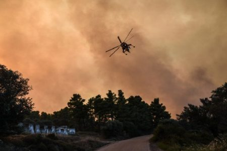 Death raises number of casualties from East Attica fires to 99
