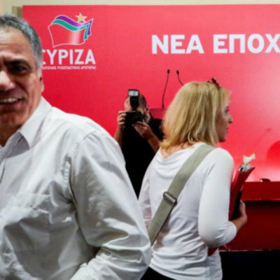 Panos Skourletis elected as new Secretary of SYRIZA party