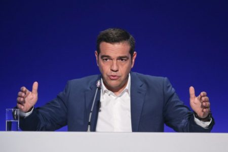 Flush from end of bailout, Greek PM announces tax breaks