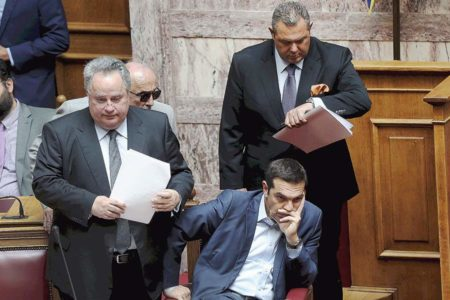 Skourletis: Government has the majority of parliament's confidence